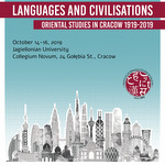 miniatura Languages and Civilisations. Oriental Studies in Cracow 1919-2019 - relacja z konferencji studenckiej